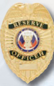 Reserve Officer Badge-