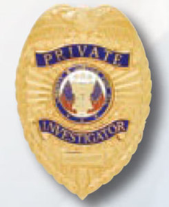 Private Investigator Badge-Premier Emblem