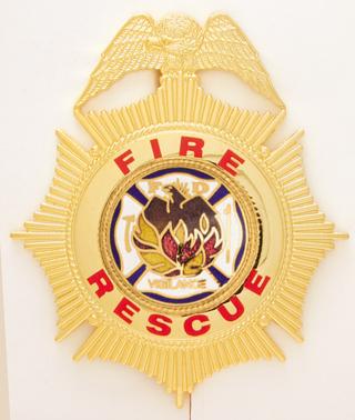 Fire Maltese Eagle-Premier Emblem