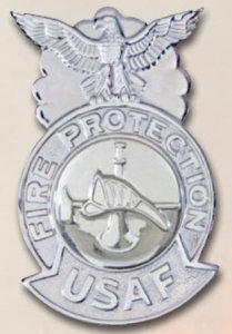 USAF Fire Fighter Badges-