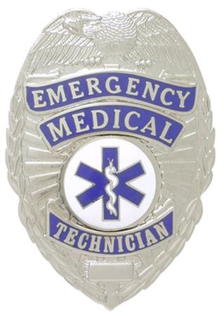 Emergency Medical Technician Eagle Shield-Premier Emblem