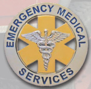 Emergency Medical Service Badge-Premier Emblem