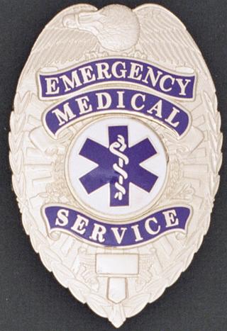 Emergency Medical Service Eagle Shield-Premier Emblem