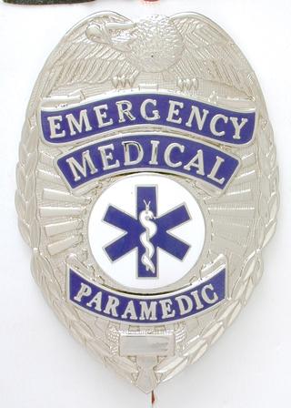 Emergency Medical Paramedic Shield-Premier Emblem