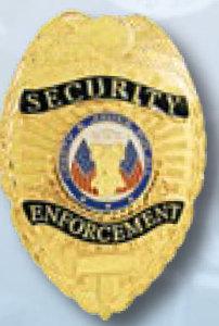 Security Enforcement Badge-
