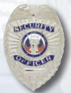 Security Officer 2 Panel Eagle Badge-Premier Emblem