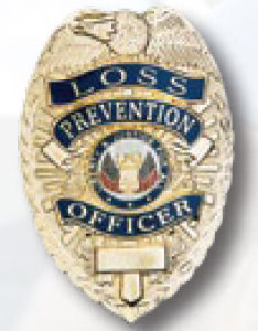 Loss Prevention Officer Badge-Premier Emblem