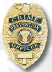 Crime Prevention Officer Badge-Premier Emblem