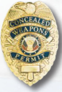 Concealed Weapons Permit Badge-Premier Emblem