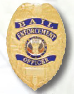 Bail Enforcement officer Badge-Premier Emblem