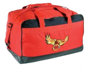 Medium Fire Duffel Bag-Premier Emblem