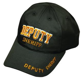 DEPUTY SHERIFF Stretchable Cap (3D - Letters)-Premier Emblem