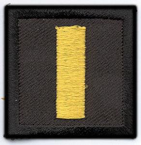 1 1/2 x 1 1/2 Lieutenant-Premier Emblem