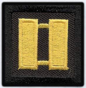 1 1/2 x 1 1/2 Captain-Premier Emblem