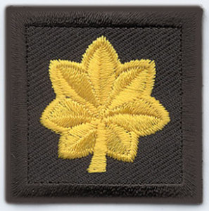 1 1/2 x 1 1/2 Major-Premier Emblem