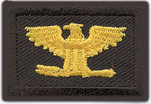 1 x 1 1/2 Colonel - Mini-Premier Emblem