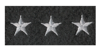Embroidered Stars Emblems