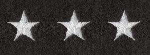 "3/4"" Stars on Felt on Strips-Premier Emblem"