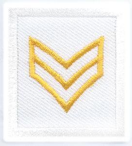 1 1/2 x 1 3/8 Sergeant-Premier Emblem