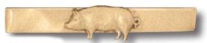 Pig Tie Bar-Premier Emblem