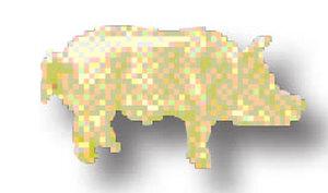 Pig Tie Tac-