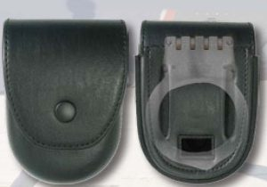 Closed handcuff case ASP & hinged cuff-Premier Emblem