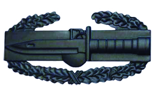 Combat Action Badge-Premier Emblem