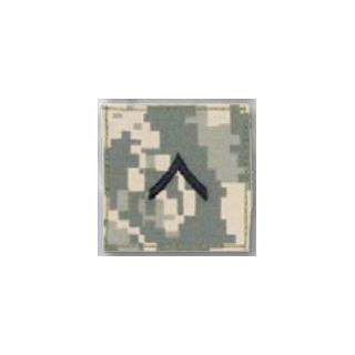 BLACK ACU ranks WT VELCRO - Private-Premier Emblem