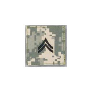 BLACK ACU ranks WT VELCRO - Corporal-Premier Emblem