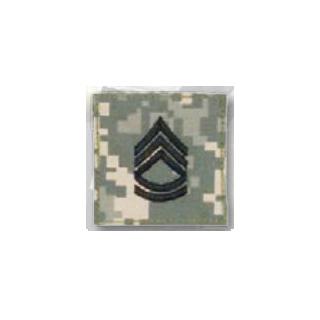 BLACK ACU ranks WT VELCRO - Sgt 1st Class-
