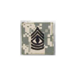 BLACK ACU ranks WT VELCRO - 1st Sgt-