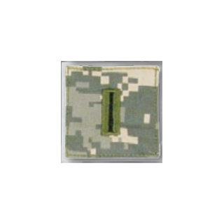 BLACK ACU ranks WT VELCRO - Warrant Officer 5-