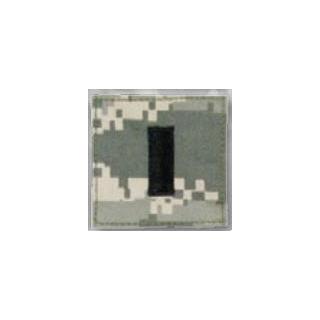 BLACK ACU ranks WT VELCRO - 1st Lieutenant-Premier Emblem