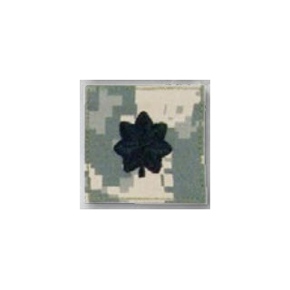 BLACK ACU ranks WT VELCRO - Lt Colonel-