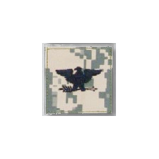 BLACK ACU ranks WT VELCRO - Colonel-Premier Emblem