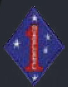 1st Marine Div-Premier Emblem