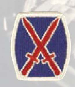 10th Infantry Div-Premier Emblem