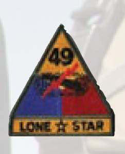 49th Armor Div-Premier Emblem