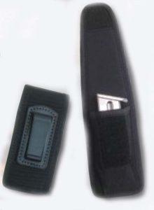 Undercover Single Magazine Case with belt clip-Premier Emblem