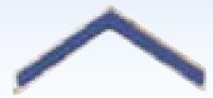 Police Chevrons With Blue Enamel-Premier Emblem
