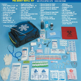 Emergency First Aid Bags