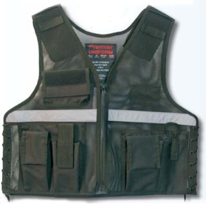 Investigator Vest With Reflective Stripe across chest and back-Premier Emblem