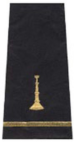 One Bugle Shoulder Board-