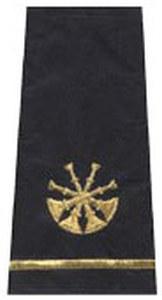 Four Bugle Shoulder Board-Premier Emblem