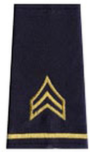 MILITARY SGT.-