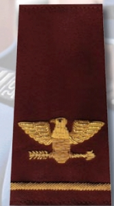 COL. Rank Shoulder Boards-Premier Emblem