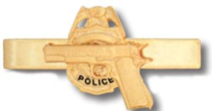 Semi-Auto On Badge Tie Bar-