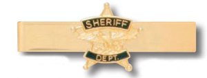 Sheriff Dept Tie Bar-