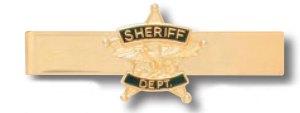 Sheriff Dept Tie Bar-Premier Emblem