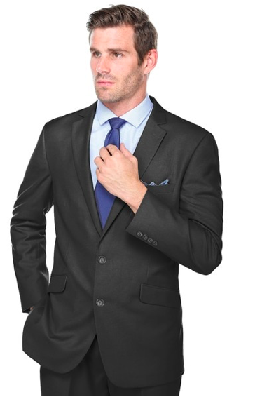 Slim Fit European cut poly/viscose suit-Security Executive
